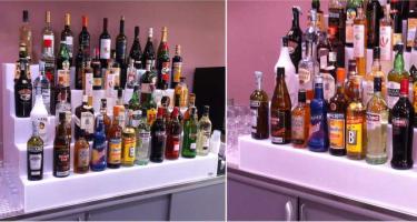 Présentoirs pour bouteilles